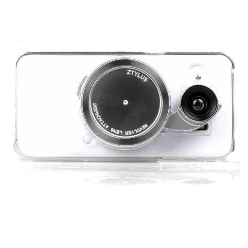 Smartphone Camera Lens Ztlyus 4-in-1-Clear Case