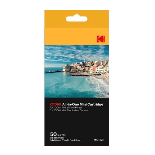 Kodak Mini 2 Printer Paper 50 Pack
