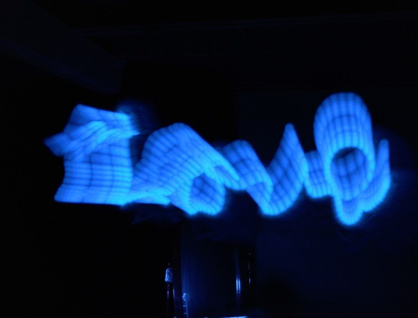 Cell Phone Photography Light Painting