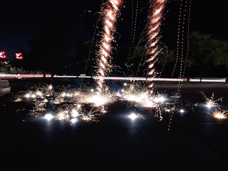 How to do Fireworks Photography on a Mobile Phone   PicxTrix