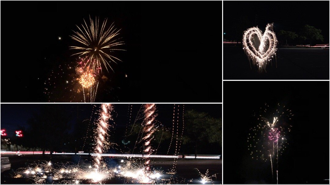 Fireworks Photography on a Mobile Phone