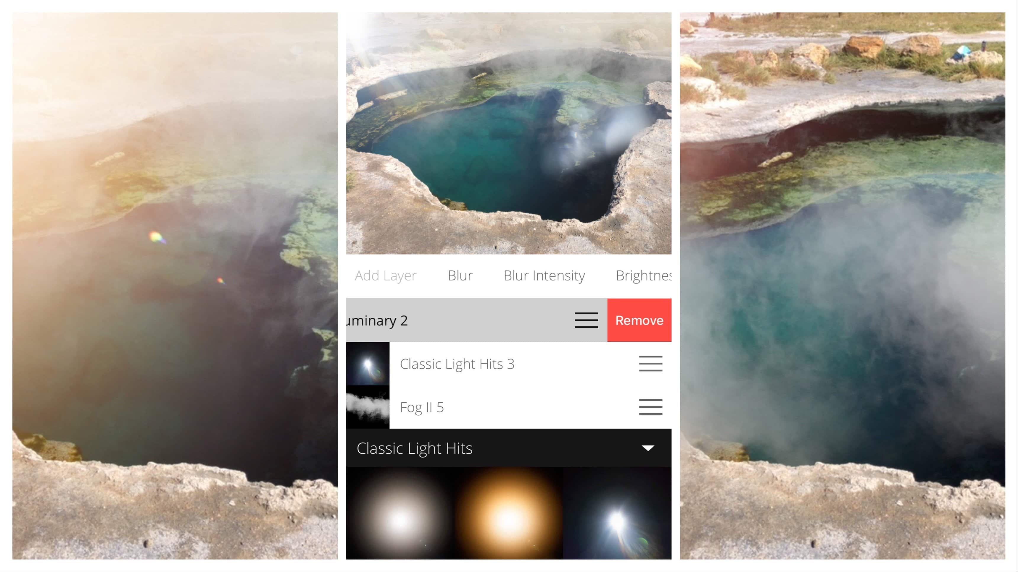 Lens Flare Distortions App