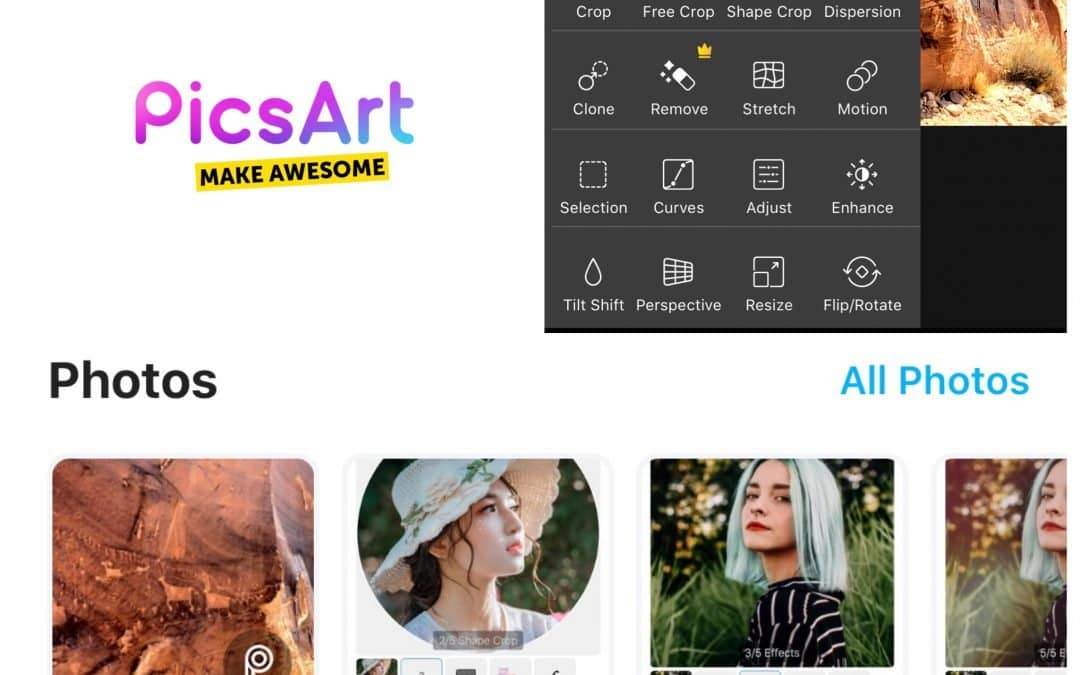 How to Use the PicsArt App