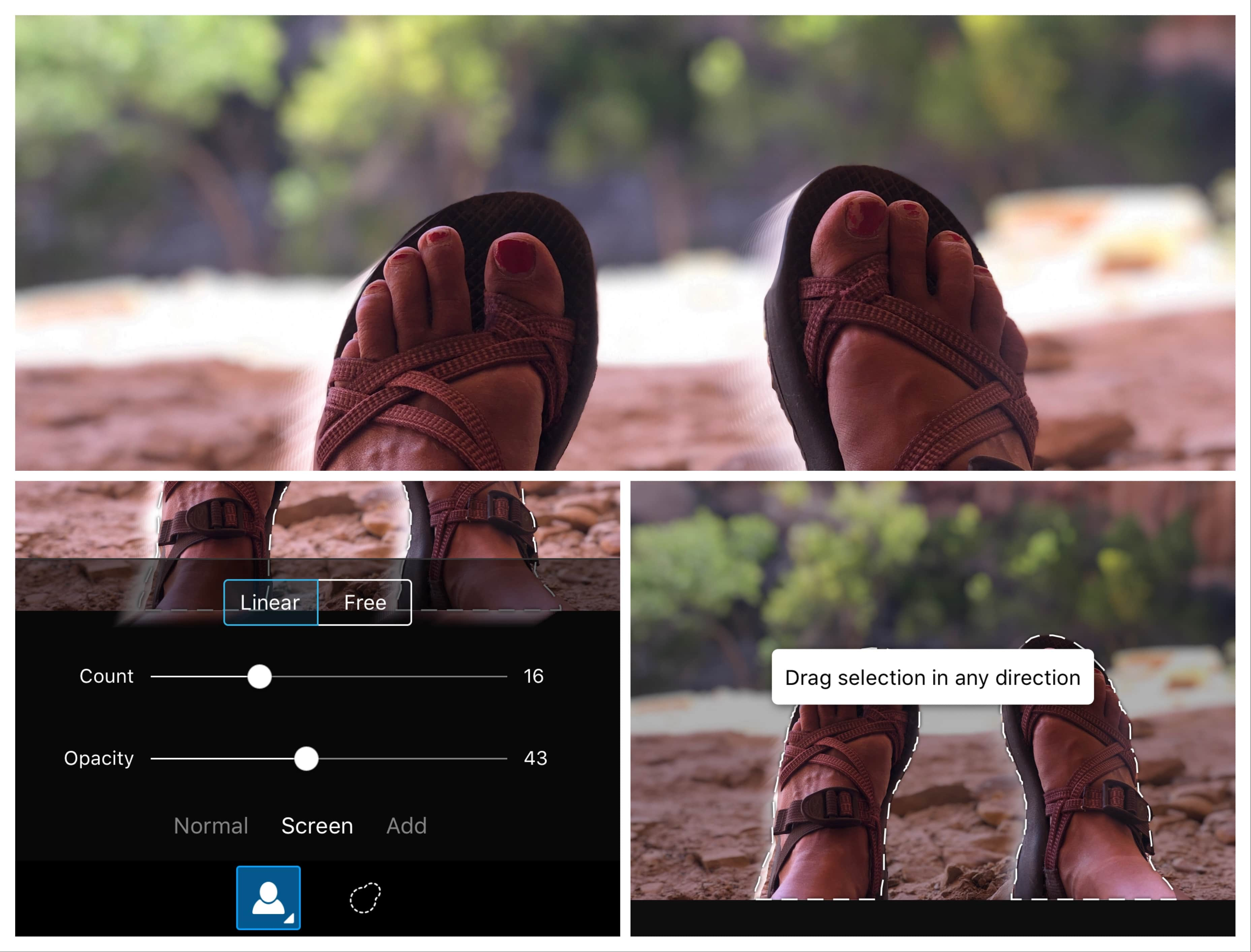 PicsArt Motion Tool