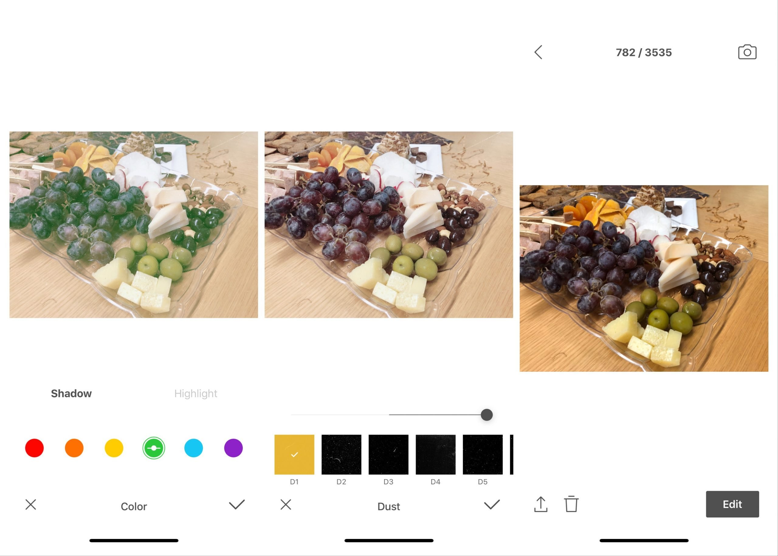 Foodie Editing App