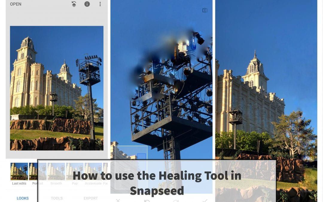 How to Use the Healing Tool in Snapseed