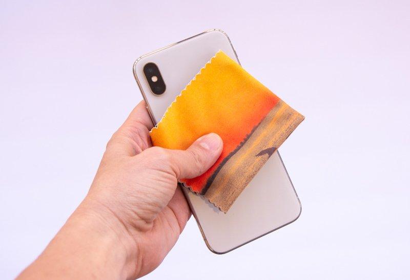 Clean my iphone Samsung